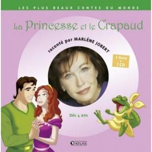 La Princesse et le crapaud - 1 livre + 1 CD (audio)