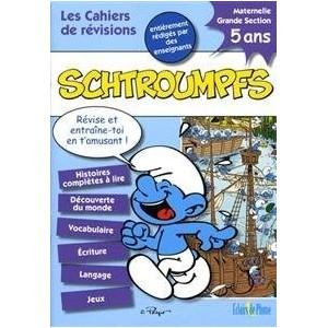Les cahiers de révisions Schtroumpfs - 5 ans Maternelle grande section