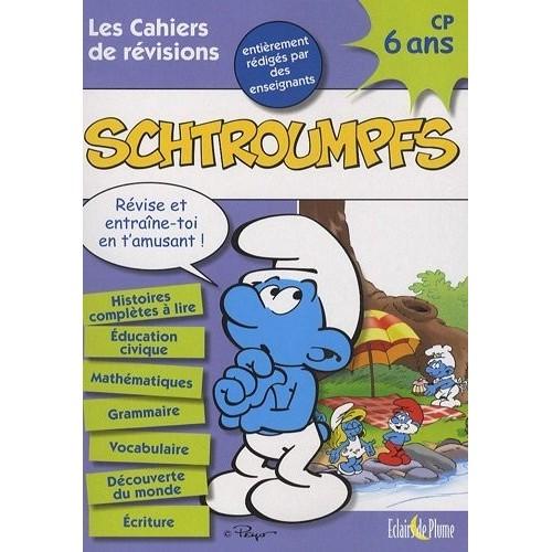 Les cahiers de révisions Schtroumpfs - 6 ans CP