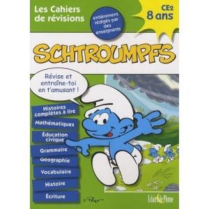 Les cahiers de révisions Schtroumpfs - 8 ans CE2