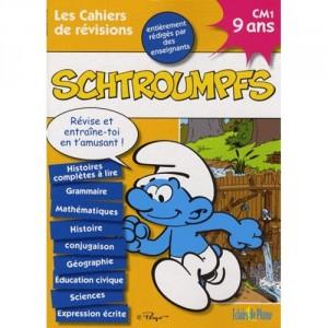 Les cahiers de révisions Schtroumpfs - 9 ans CM1