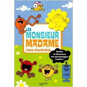 Les Monsieur Madame - Livre d'activités