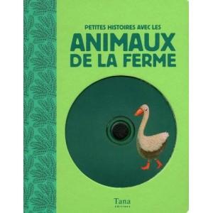 Petites histoires avec les animaux de la ferme avec 2 CD audio