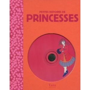 Petites histoires de princesses avec 2 CD audio