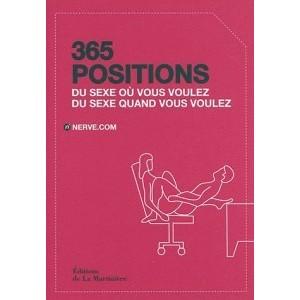 365 positions - Du sexe où vous voulez, du sexe quand vous voulez