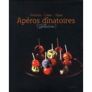 Apéros dînatoires - Verrines, Cakes, Tapas - Coffret