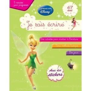 Je sais écrire - J'apprends avec Disney - 6/7 ans (vert)