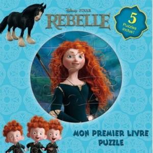 Rebelle - Mon premier livre puzzle