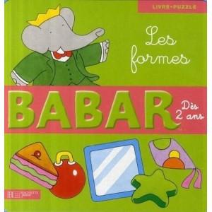 Babar - Les formes - Livre-puzzle
