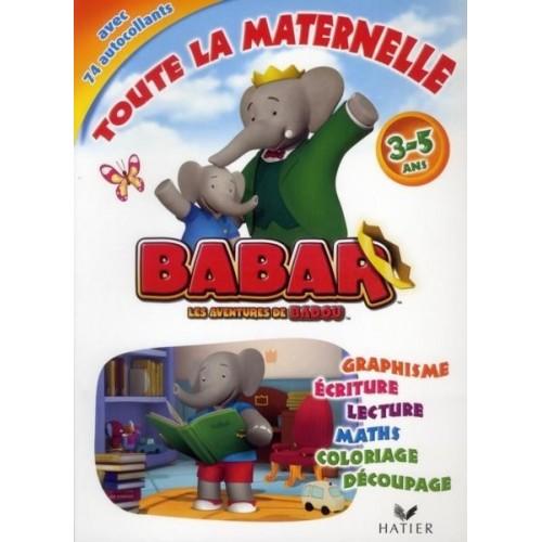Les aventures de Babar Badou - Toute la maternelle - 3-5ans
